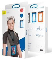 Купить <b>Чехол</b> универсальный <b>Baseus</b> Waterproof Bag Air Cushion ...