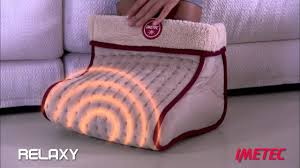 <b>электрическая грелка для ног</b> relaxy imetec intellisense (иметек)
