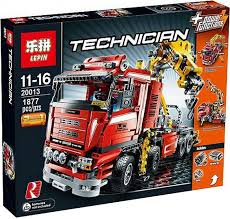 Аналог Lego 8258, <b>Lepin 20013</b> Грузовой кран :: Интернет ...