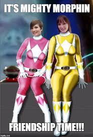power ranger friendship Meme Generator - Imgflip via Relatably.com