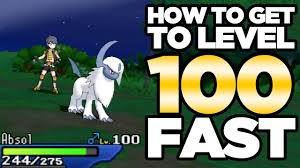 How To Get to Level 100! Level Up Fast Guide for Pokemon Ultra ...