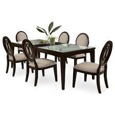 marble dining table adecc: cosmo table and  chairs merlot