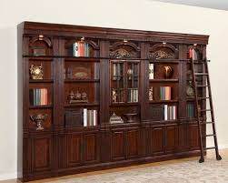 parker house wellington library bookcase wall set phwel set3 buy home library furniture