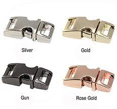 "Lot of <b>10</b> Metal 5/8"" D-Ring Paracord Bracelets <b>Dog Pet</b> Collars ..."