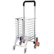 KAVID <b>Folding Stair</b> Climbing Shopping Cart <b>Trolley</b> Home 8 ...