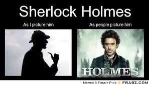 Sherlock Holmes... - Meme Generator Separated at birth via Relatably.com