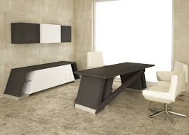modern interior office design ideas with appealing brown wooden desk offices in middle including awesome white amazing modern office desks
