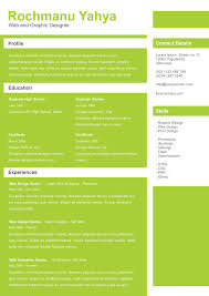 40 resume template designs creatives clean one page resume template psd