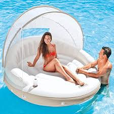 """<b>Intex Canopy Island</b> Inflatable Lounge, 78"""" X 59"""" - Buy Online in ..."""