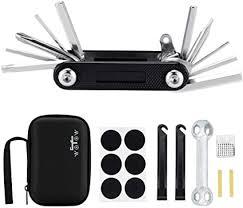 WOTOW <b>Bike</b> Repair <b>Set</b> Bag <b>Bicycle</b> Multi Function 16 in <b>1</b> Tool Kit ...