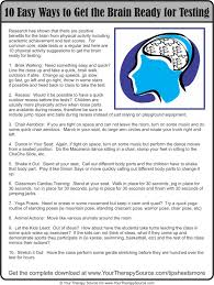 how do gross motor skills affect academics your therapy source 10 ways to get the brain ready for testing