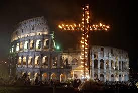 Iglesia católica cielo en la tierra