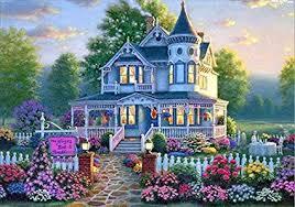 Hot Sale! <b>5D</b> Diamond Painting Castle <b>DIY Diamond Cross</b> Stitch ...