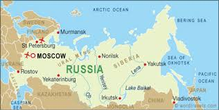 Image result for map russia