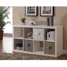 6 Cube <b>TV stand</b> Organizer Storage w/ Adjustable <b>Shelves</b> Table ...