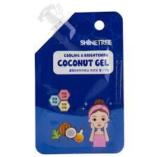 <b>Гель для лица</b> `SHINETREE` <b>охлаждающий</b> с экстрактом кокоса и ...