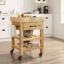 Crosley Kitchen Cart Granite Top Crosley Cherry Kitchen Cart With Granite Top Kf30003ech The Home