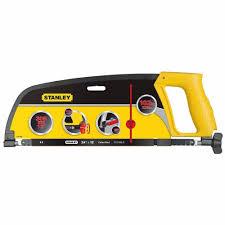 <b>Stanley</b> M.<b>1-15-122</b> Contractors Hacksaw <b>Enclosed Grip</b> 12 ...