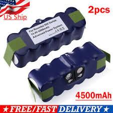 2Pack For iRobot Roomba <b>14.4V 4500mAh</b> Vacuum Battery 500 ...
