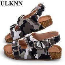 <b>ULKNN New</b> 2018 Soft Bottom Children Sandals For Kids Summer ...