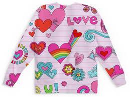 Детский свитшот унисекс сердечки #2830828 в Москве – детские ...