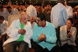 Resultado de imagen para Fidel castro y Nicolas maduro