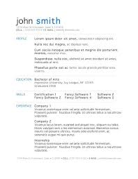 Free Functional Resume Template For Mac  free professional resume     Resume   Free Resume Templates