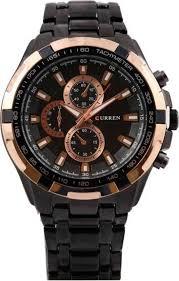 <b>Curren 8023</b>-Gold-waterproof Analog <b>Watch</b> - For <b>Men</b> - Buy <b>Curren</b> ...