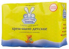 <b>Ушастый Нянь Крем</b>-<b>мыло</b> с оливковым маслом и ромашкой ...