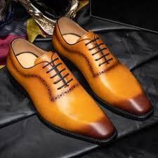 <b>QYFCIOUFU Luxury</b> Brand <b>Men</b> Oxfords Shoes Wedding Party ...