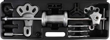 Universal <b>Puller</b> Set with <b>Sliding Hammer 16 pcs</b>.