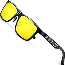 ATTCL <b>Men's</b> HD <b>Night Vision</b> Driving Sunglasses For <b>Men</b> Women ...