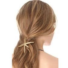New Hair Accessories <b>Starfish Hairpins</b> Side Clip <b>Sea Star</b> Hair ...