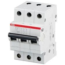 «ABB S203 <b>Автоматический выключатель 3P 10А</b> (С) 6kA ...