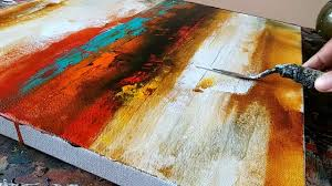 <b>Abstract Painting</b> / Easy /How to paint acrylic <b>abstract painting</b> /Just ...