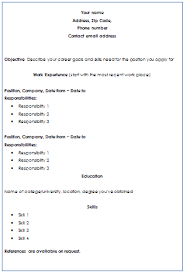 written resume example of a well written resume