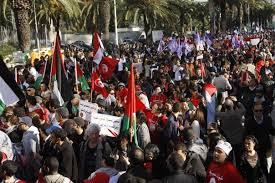 Forum social mondial: A Tunis, des Algériens en masse pour le rêve d'une société civile forte