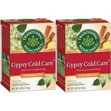 Traditional Medicinals <b>Gypsy Cold</b> Care Organic <b>Tea</b> - 32ct : Target
