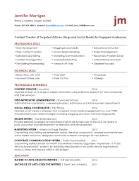 resume tips creative writing writer social media resume