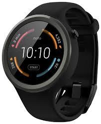 <b>Умные часы Motorola Moto</b> 360 Sport — купить по выгодной цене ...