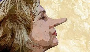 Image result for hillary clinton lies pics