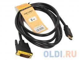 Кабель <b>HDMI</b> to DVI-D (<b>19M</b> -25M) 2м, <b>TV-COM</b> LCG135E-2M ...