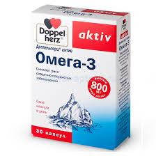 <b>Доппельгерц Актив Омега</b>-<b>3</b> капс N30 (БАД) (Квайссер) - купить в ...