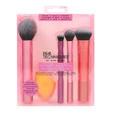 Набор <b>кистей</b> и спонж для макияжа `<b>REAL TECHNIQUES</b> ...