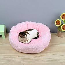 <b>Winter Warm Pets Plush</b> Round Bed House Soft Dogs Cats Puppy ...