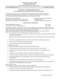 insurance claims representative resume sample httpjobresumesamplecom274 claims adjuster resume sample