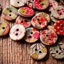 <b>100Pcs</b> Retro Wooden Sewing Buttons DIY Craft Bag Hat <b>Clothes</b> ...