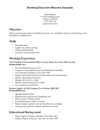 resume summary samples banking cipanewsletter cover letter ability summary resume examples skills summary resume