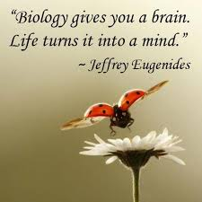 I don't know about anybody else but biology gives me a headache ...