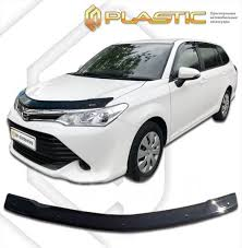 <b>Дефлектор капота CA</b> (мухобойка) <b>Toyota</b> Corolla Fielder, Axio 2015